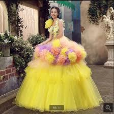 multi color wedding dress multi color chiffon bridesmaid prom formal evening get
