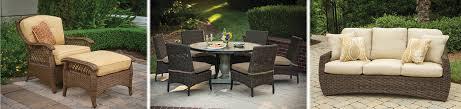 resin wicker furniture patio entrancing synthetic wicker patio