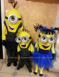 Despicable Family Halloween Costumes Despicable Baby Minion Halloween Costume Halloween