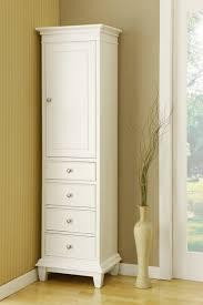 Bathroom Towel Storage Cabinets Modern Bathroom White Floor Standing Storage Cabinet Unitwhite At