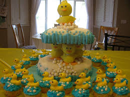 photo baby shower cupcake display ideas image