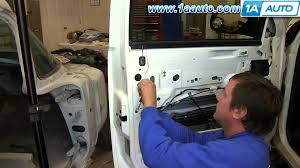 Chevy Silverado Truck Parts - how to install replace outside front door handle 2007 13 chevy