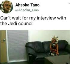 Casting Couch Meme - oh ahsoka the casting couch know your meme