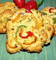recette de cuisine salé cookies salés aux poivrons les meilleures recettes de cuisine d