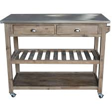 stainless steel topped kitchen islands eldorado springs kitchen island with stainless steel top wayfair