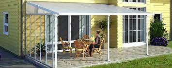 chiudere veranda come realizzare una copertura per la veranda o il terrazzo