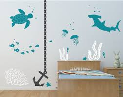 under the sea decal etsy