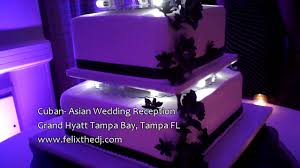 l e d lit wedding cake from alessi bakery tampa fl youtube
