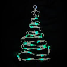 Hanging Led Lights by Shop Northlight Sienna Pre Lit Plastic Hanging Christmas Tree