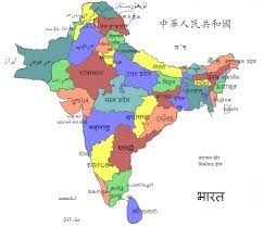 south asia countries map language log map of south asia