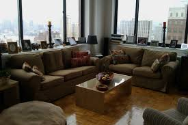 Sofas Small Living Rooms by Single Leather Sofa With Fabric Cushion Centerfieldbar Com