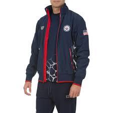 usa swimming full zip jacket apparel arena