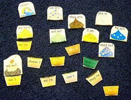 contraction worksheets and activity u2013 cupcake theme homeschool den