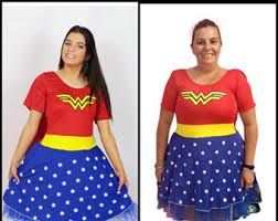 wonder woman costume etsy