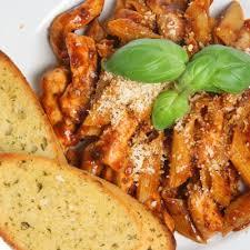 Five Cheese Marinara Sauce On Cavatappi Pasta With Chicken Meatballs - cheap olive garden s five cheese marinara penne recipe recipe4living