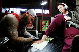 tulsa shop says u0027cancer u0027 with 50 tattoo marathon metro