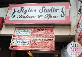 hair salon edsa quezon city styles studio salon spa in banawe st momo à la mode