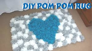 Homemade Pom Pom Decorations Diy Pom Pom Rug Bedroom Decor Tutorial Youtube