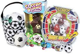sports easter baskets soccer themed easter basket with 6 soccer