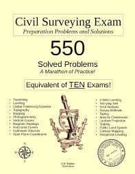 civil surveying exam preparation problems and solutions