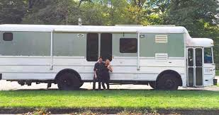 A Cozy Kitchen by Step Inside This Bus It U0027s Been Converted Into A Cozy Home With A