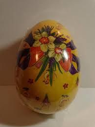 paper mache easter baskets vintage easter egg paper mache sealed egg box easter basket