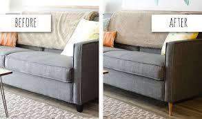 in sofa legs 27 genius ways to make inexpensive furniture look expensive