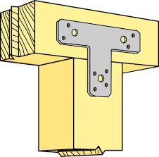 simpson strong tie flat t shaped bracket 38x125x150x2 0 flat