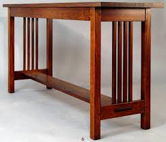 shaker sofa table shaker sofa table mission style console table luxury images