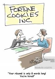 Succinct Resume Succinct Cartoons And Comics Funny Pictures From Cartoonstock