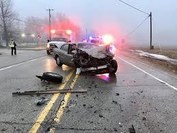 2 vehicle crash in richmond shuts down route 12 saturday morning