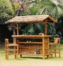 Tiki Outdoor Furniture by Outdoor Tiki Hut Landscaping And Outdoor Building Inspiration