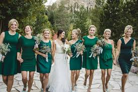 emerald green bridesmaid dress assorted green bridesmaid dress must for your wedding