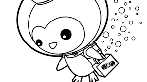 octonauts peso coloring clipart free clipart
