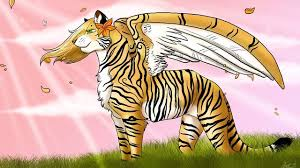 tiger with wings