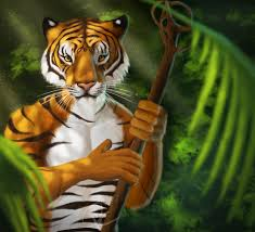 tiger in the jungle by ctrlaltcat on deviantart