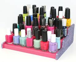 diy nail polish display a little craft in your day