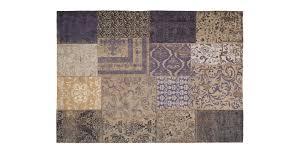 Schlafzimmer Teppich Rund Teppich In Hochwertigem Vintage Look Patch Blau Betten De