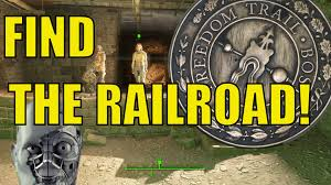 Freedom Trail Map Boston by Fallout 4 How To Find The Railroad The Molecular Level The