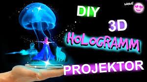 diy 3d hologramm projektor für dein smartphone i life hack i