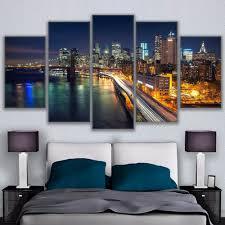 online get cheap brooklyn bridge framed art aliexpress com