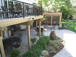 Large Paver Patio by Columbus Oh Deck Builder