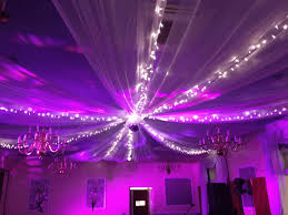Celing Drapes Bespoke Ceiling Drapes Creative Cover Hire
