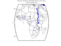 world rivers map shapefile worlddatamap exles