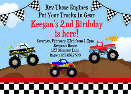 truck birthday party free printable truck birthday party invitations