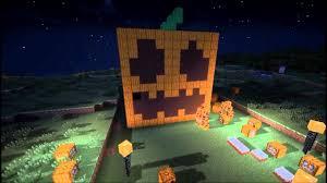 giant pumpkin went boom minecraft halloween special map