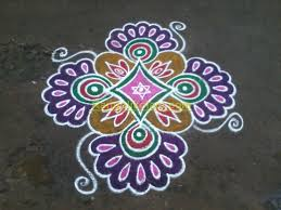 colourful border rangoli design youtube swarna vasi my fav