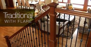 Indoor Banister Stair Parts Handrails Stair Railing Balusters Treads U0026 Newels
