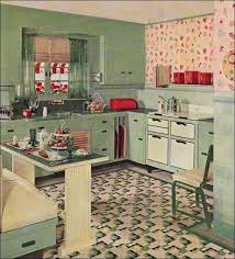 creating vintage kitchen style without remodeling process
