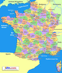 Map Of France Wine Regions by Guide To Places To Go In France Central France The Loire Valley